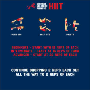 HIIT workout BMF X-ERT military fitness training exercise 2