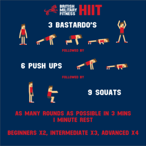 HIIT workout BMF X-ERT military fitness training exercise 3