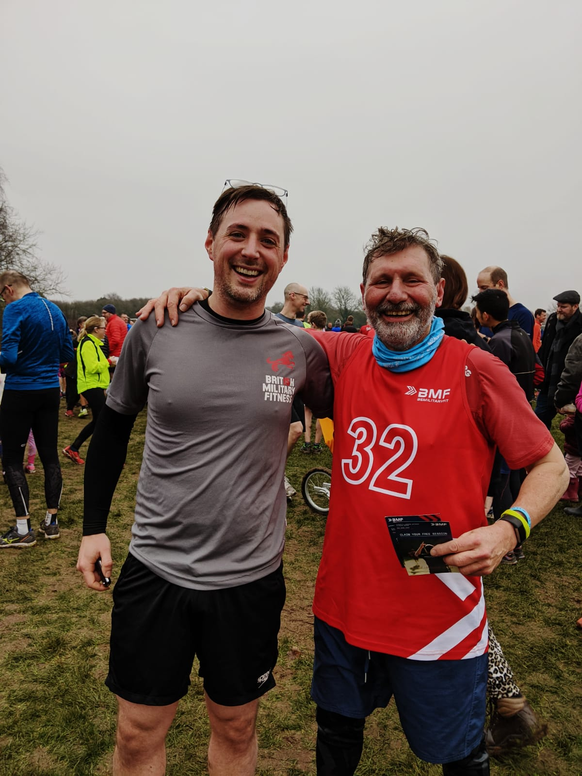 BMF Member completes 200th park run before COVID-19