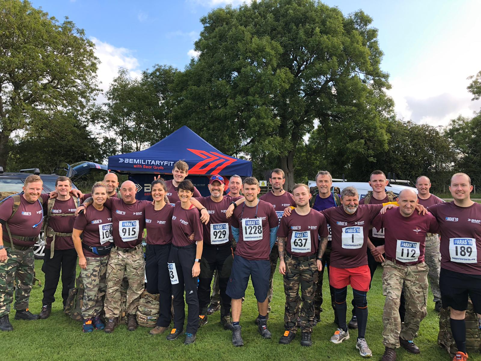 PARAS'10 - THE ULTIMATE 10 Mile Endurance Race - 7th September 2019 - Catterick