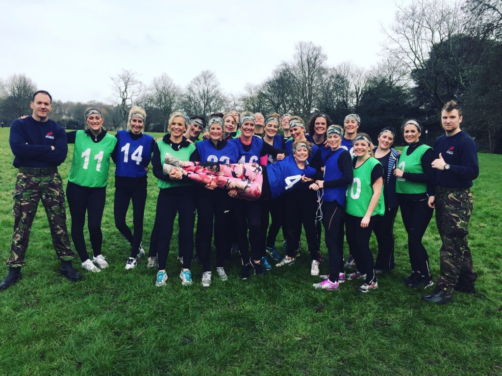 Engaging in exercise! Bride-to-be celebrates her hen-do with BMF