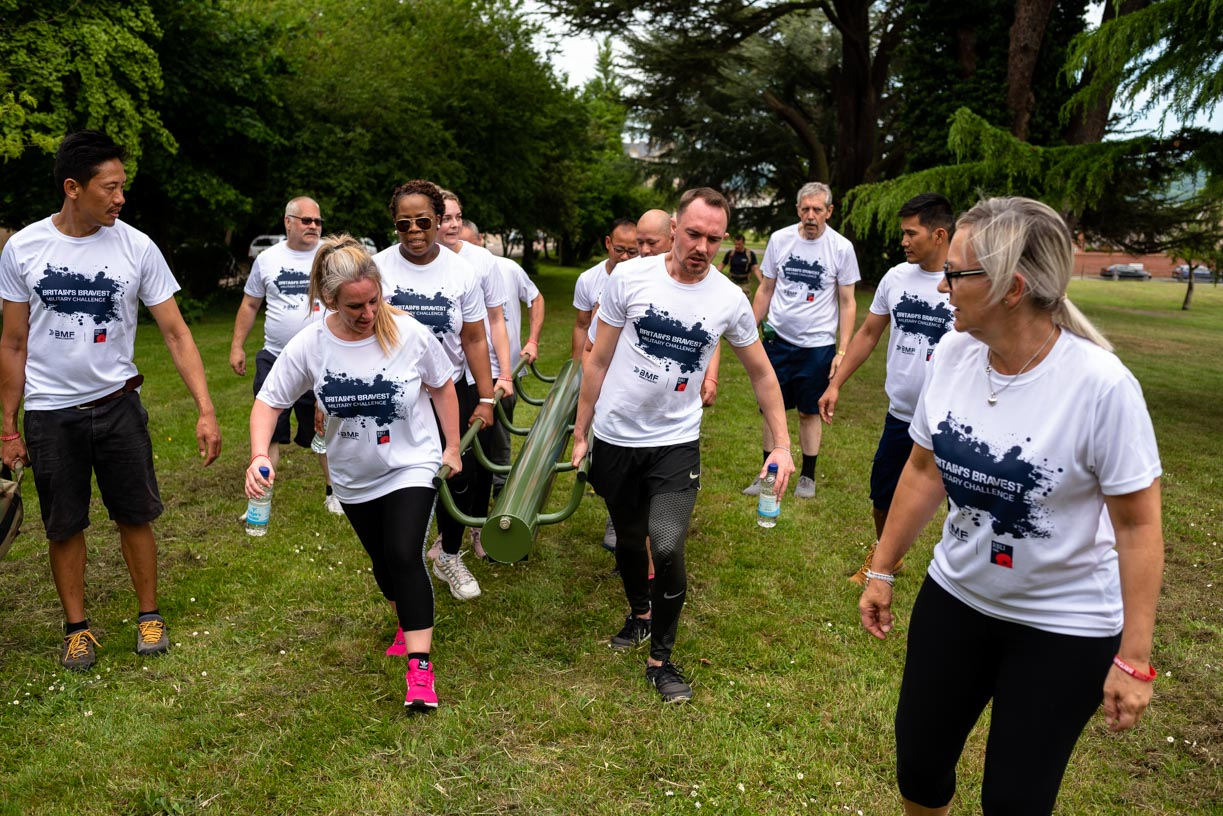 Two thousand participants sought for Britain's Bravest Military Challenge