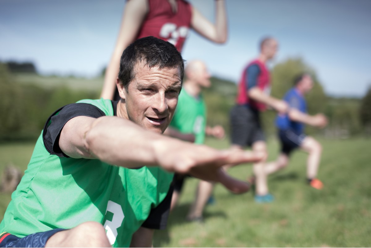 British Military Fitness becomes Be Military Fit with Bear Grylls