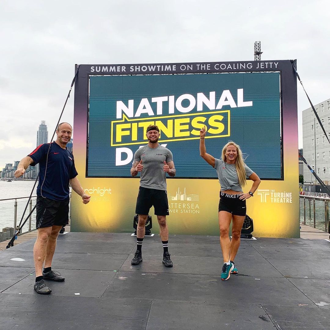 19 million people get active on national fitness day - Bear Grylls urges people to stay physically and mentally fit