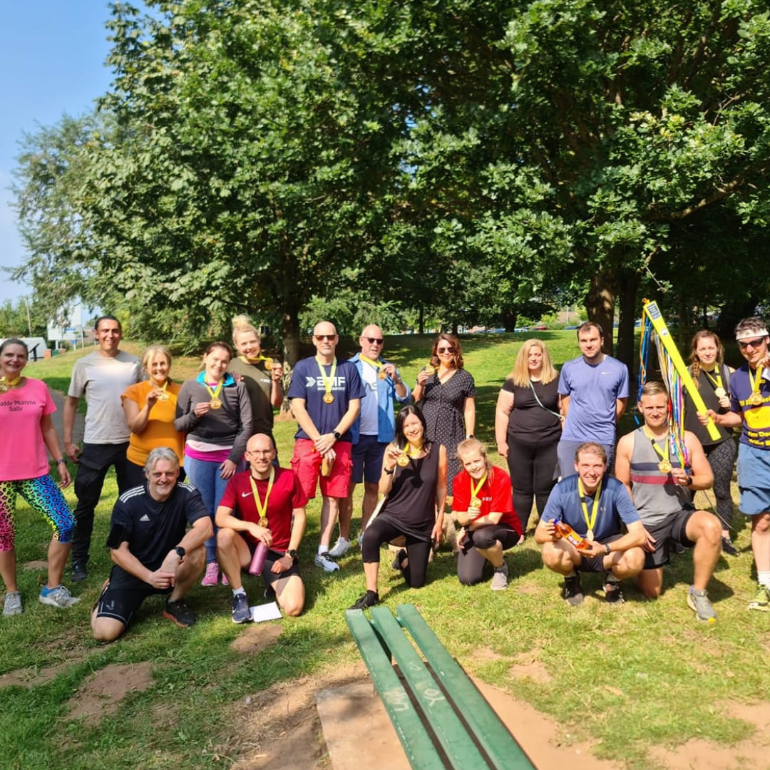 BMF Nottingham members pay tribute to instructor phil in 24-hour fitness challenge